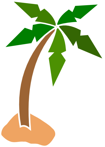 Coconut Tree Clip Art At Clker Com Vector Clip Art