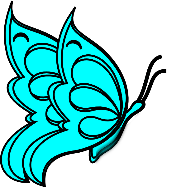 free printable butterfly clip art - photo #35