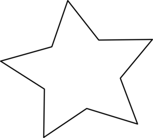 Black Outline Star Clip Art at Clker.com - vector clip art ...