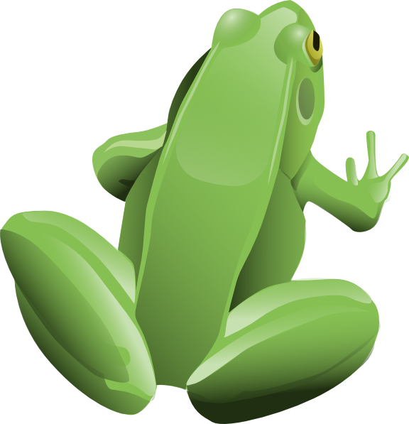 green frog clipart - photo #16