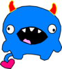 Bluey Monster Clip Art