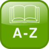 A To Z Directory Icon Clip Art