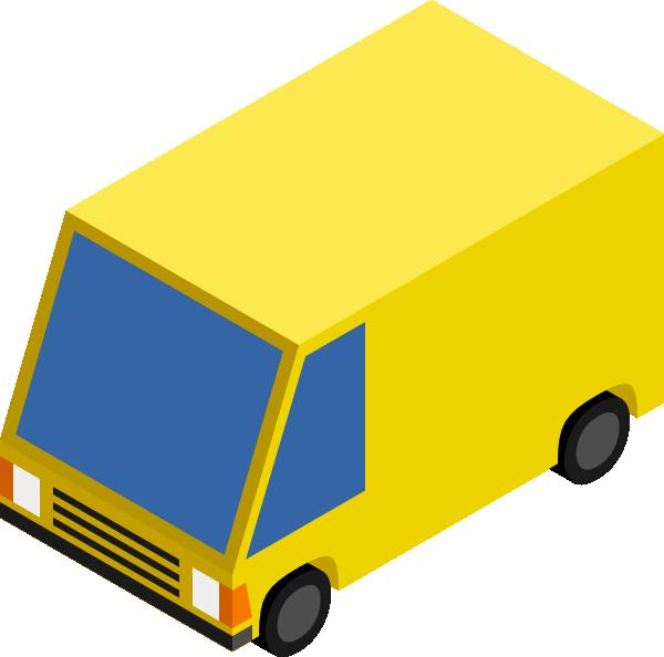 yellow truck clipart - photo #25