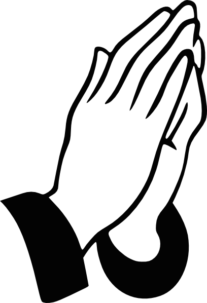 praying hands rt clip art at clker com vector clip art