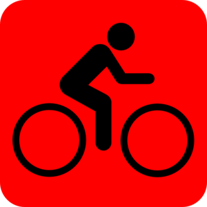Bicycle Rider Icon