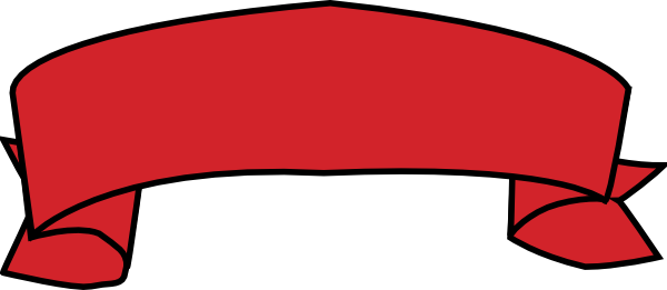 Red Banner Clip Art at Clker.com - vector clip art online ...