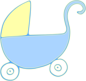 baby carriage stroller clip art at clker com vector clip art rh clker com stroller clipart stroller clipart