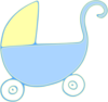 Baby Carriage Stroller Clip Art