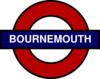 Bournemouth Tube Sign Clip Art