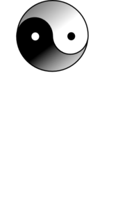 Yin Yang 16 Clip Art at Clker.com - vector clip art online ...