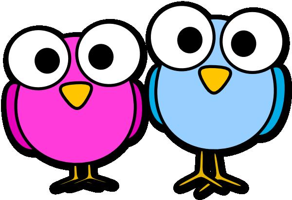 Googley Eye Birdies Clip Art at Clker.com - vector clip art online ...