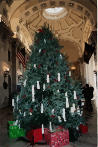 The U.s. Naval Academy S 13th Annual Giving Tree Clip Art