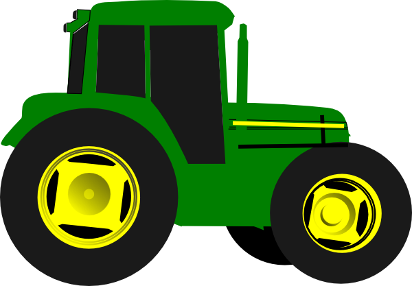 Green Tractor Clip Art : Green tractor clip art at clker vector