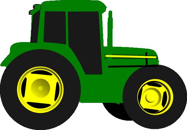 green tractor clip art at clker com vector clip art online rh clker com tractor clip art pictures tractor clip art for kids