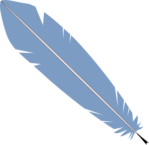 Feather Pen Clip Art at Clker.com - vector clip art online, royalty ...
