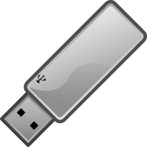Usb Flash Drive Icon Clip Art