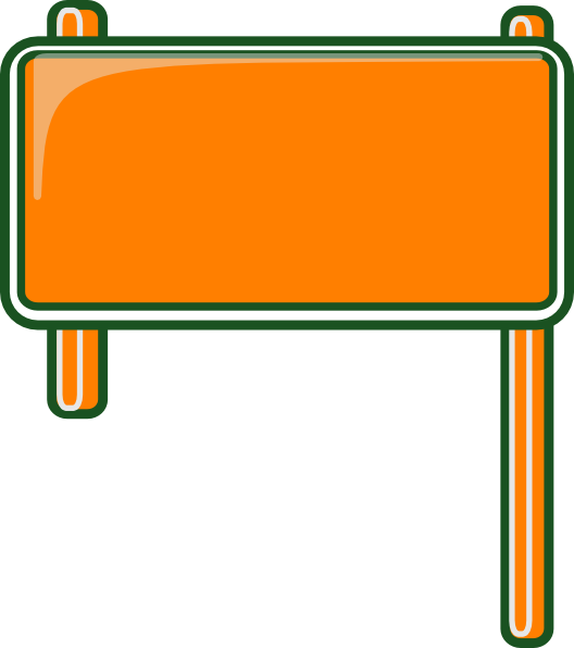 Highway sign blank clip art at clker vector clip art online download this image as pronofoot35fo Choice Image