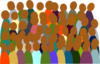 Smaller Crowd_rdc_color clip art