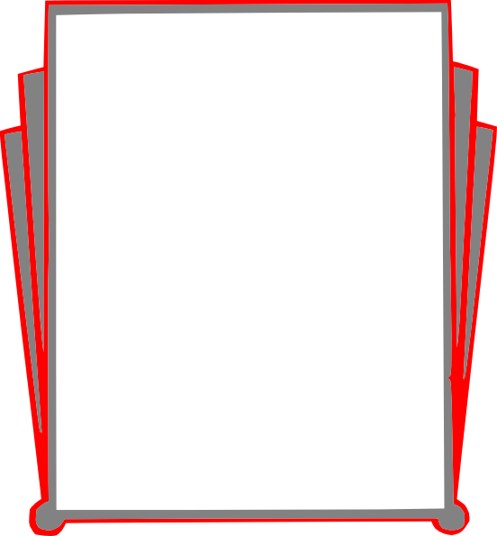 Decorative Border Pages Book clip art - vector clip art online ...