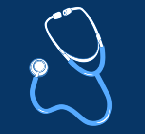 Square Blue Medical Clip Art