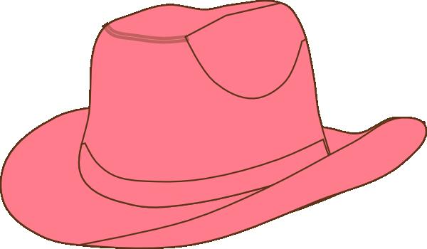 Pink Cowgirl Hat Clip Art at Clker.com - vector clip art ...