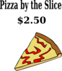 Pizza Color By The Slice Clip Art
