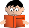 Reading Comprehension Cover  Clip Art