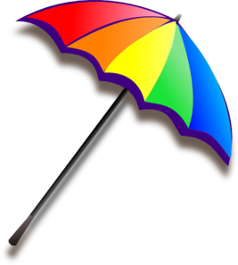 Rainbow Umbrella Pcp Clip Art
