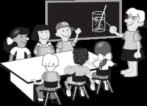 Teacher Chemistry Classroom Clip Art
