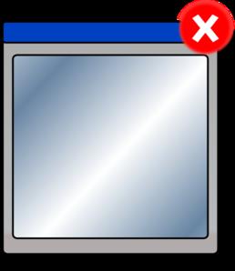 Close Window Clip Art at Clkercom vector clip art online