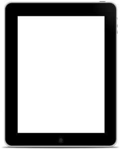 Ipad Blank Screen Clip Art