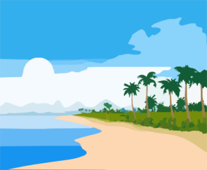 beach clip art at clker com vector clip art online royalty free rh clker com clip art beach chair clipart beach borders