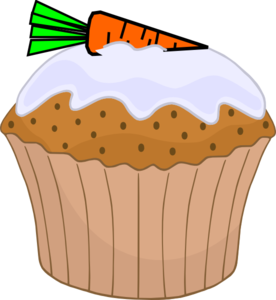 Cake Tin Clipart : Carrot Cake Muffin Clip Art at Clker.com - vector clip art ...