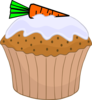 Carrot Cake Muffin Clip Art