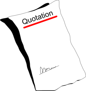 Quotation Blank Clip Art