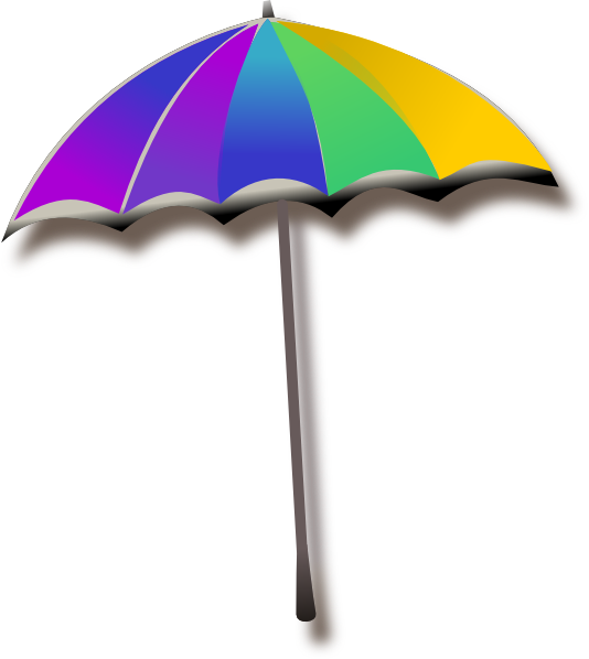 umbrella clip art at clker - vector clip art online, royalty