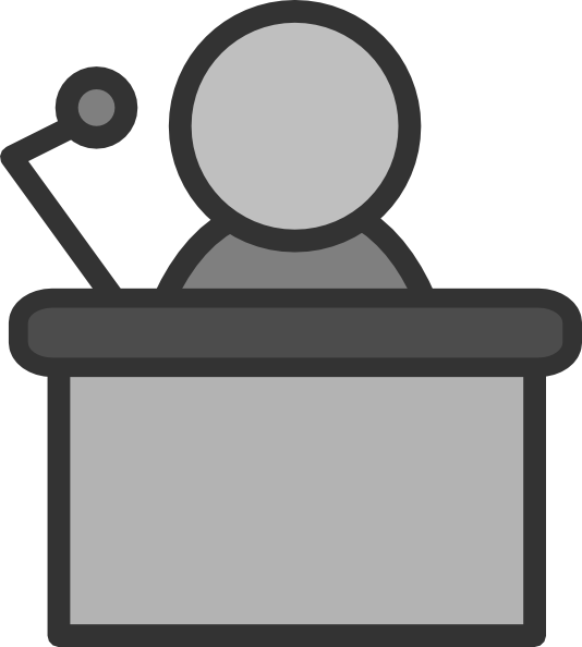 speaker podium mic clip art at clker com vector clip art online rh clker com podium clipart clipart podium gratuit