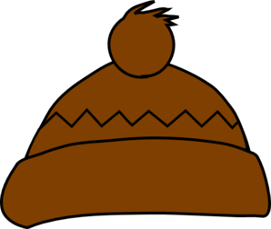 Brown Winter Hat Clip Art