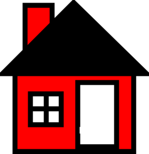 Red House The Clip Art
