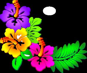 Hibiscus Corner Clip Art at Clker.com - vector clip art online ...