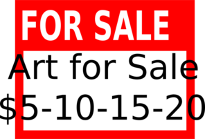For Sale Sign Artsale Clip Art