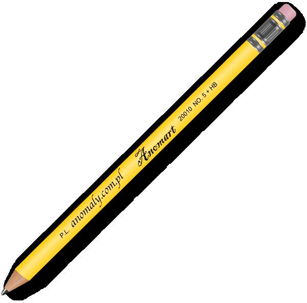 Pencil clip art images for teachers classroom lessons websites