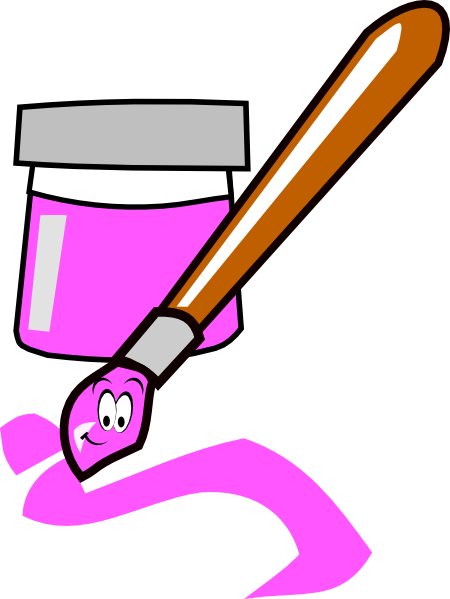 Cartoon Paintbrush Clip Art at - 42.0KB