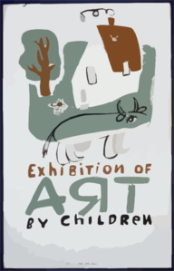 Exhibition Of Art By Children  / Osborn. Clip Art