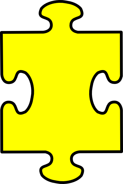 puzzle piece yellow clip art at clker com vector clip puzzle pieces clip art world puzzle pieces clip art free