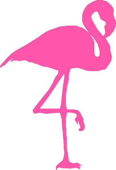 Pink Flamingo Clip Art at Clker.com - vector clip art ...