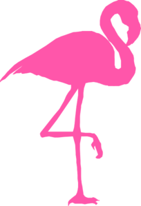 Flamingo For Teachers Clipart