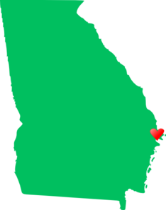 Georgia Heart Clip Art