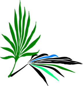 Palm Leaves Clip Art