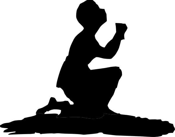 Man Kneeling Clip Art at Clker.com - vector clip art ...